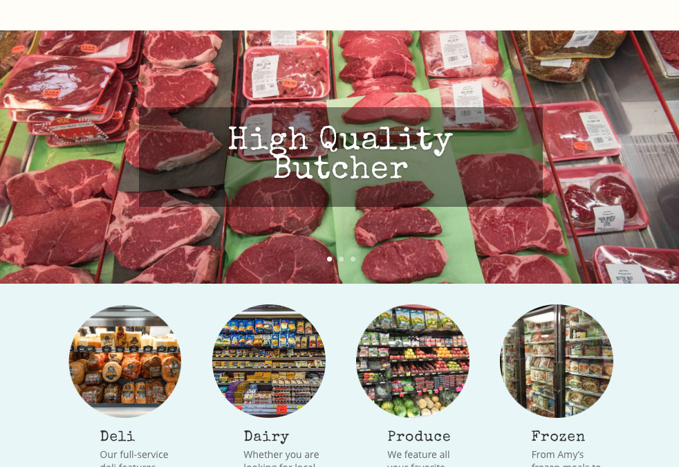 Website for Speedy Market